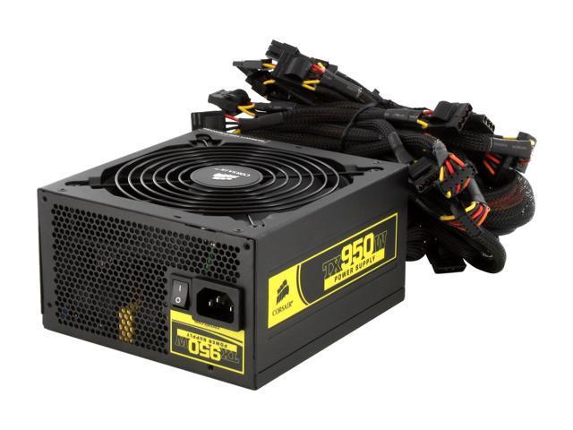 CORSAIR Enthusiast Series TX950 (CMPSU-950TX) 950W Power Supply