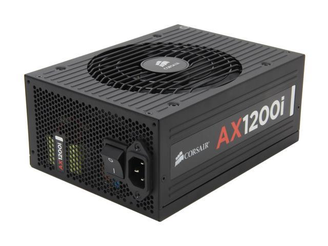 CORSAIR AXi Series AX1200i Digital 1200W 80 PLUS PLATINUM Haswell Ready Full Modular ATX12V & EPS12V SLI and Crossfire Ready Power Supply with C-Link Monitoring and Control