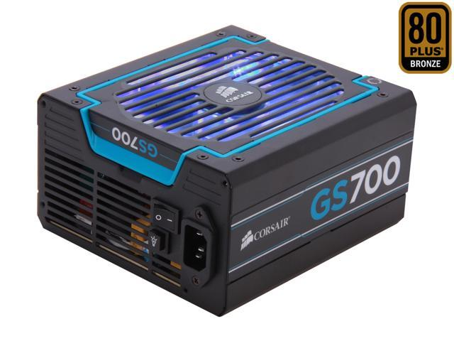 CORSAIR GS series GS700 700W Power Supply New 4th Gen CPU Certified Haswell Ready