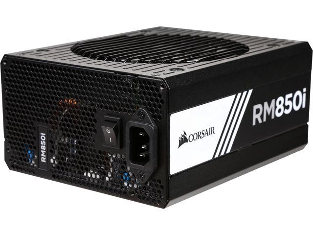 Corsair Certified RMi Series RM850i 850W 80 Plus Gold Full Modular Power Supply (CP-9020083-NA/RF)