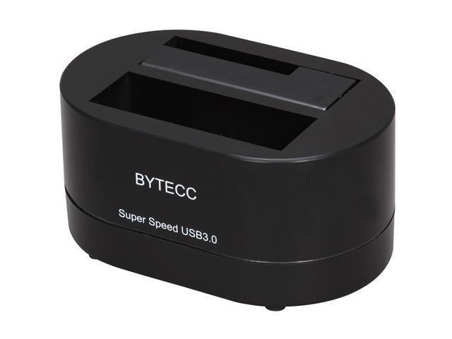 BYTECC T-200U3 Black Single Bay SATA Docking Station