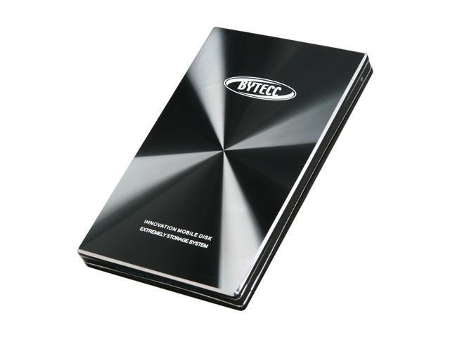 "BYTECC HD4-SU3 2.5"" Black SATA I/II USB 3.0 Easy to open Screwless Enclosure (For Sata I/II Hard Drive)"