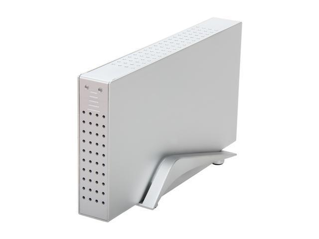 "BYTECC HD35-Limited 3.5"" Silver SATA USB 2.0/e-SATA/Firewire 400 & 800 External Enclosure"