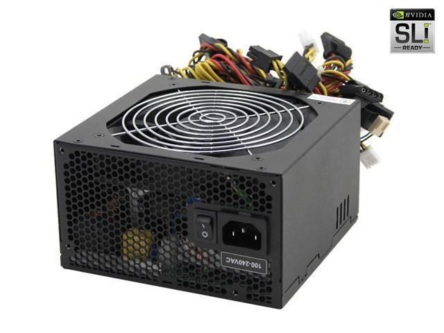 SeaSonic S12-500 500W ATX12V SLI Certified CrossFire Ready Active PFC Power Supply