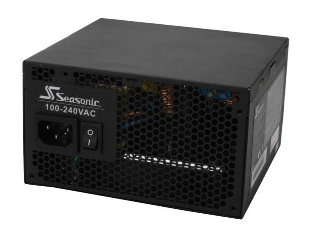 SeaSonic S12 II SS-500GB 500W ATX12V V2.3 / EPS12V V2.91 SLI Ready CrossFire Ready 80 PLUS Certified  Active PFC Power Supply