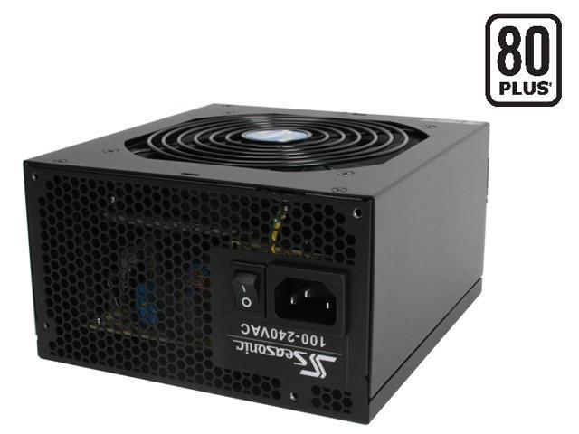 SeaSonic M12II SS-430GM 430W ATX12V 2.2 /EPS12V 2.91 SLI Ready CrossFire Ready 80 PLUS Certified Modular Active PFC Power Supply