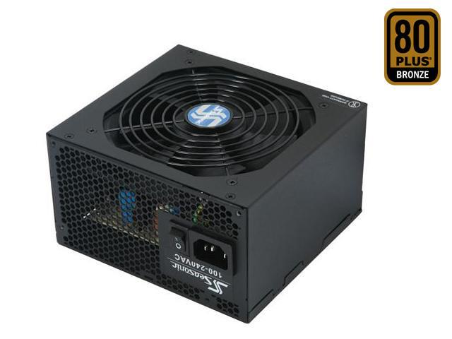 SeaSonic S12II S12II 380B 380W ATX12V v2.3 80 PLUS BRONZE Certified Active PFC Power Supply