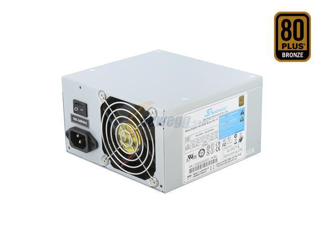 SeaSonic SS-500ES Bronze 500W ATX12V v2.31 80 PLUS BRONZE Certified Active PFC Power Supply - OEM
