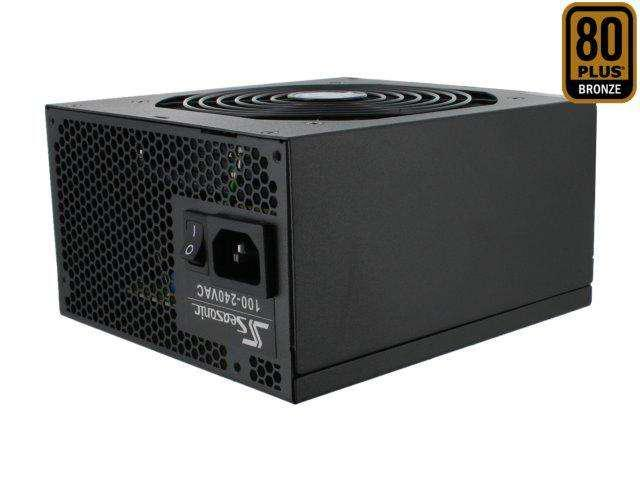 SeaSonic M12II 500 Bronze 500W ATX12V V2.2 / EPS12V 2.92 80 PLUS BRONZE Certified Modular Active PFC Power Supply