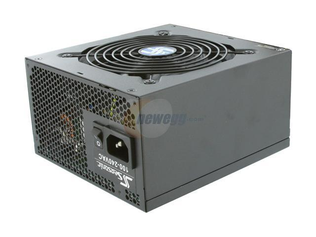 SeaSonic S12D 750 Silver 750W ATX12V V2.3/EPS 12V V2.91 80 PLUS SILVER Certified Active PFC Power Supply