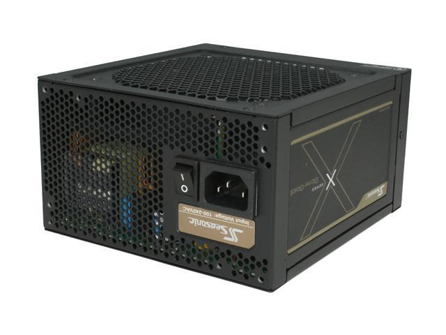 SeaSonic X Series X760 Gold (SS-760KM Active PFC) 760W Power Supply