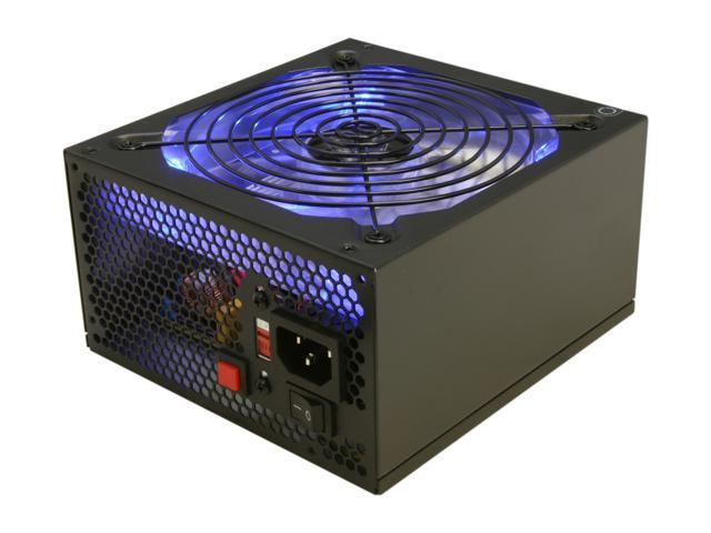 RAIDMAX HYBRID 2 RX-530SS 530W ATX12V V2.2/ EPS12V SLI Ready CrossFire Ready Modular Power Supply, New Version with Build-in LED Fan On/Off Switch