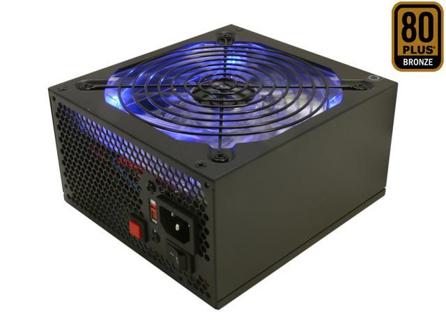 RAIDMAX Blackstone series RX-700AC 700W Continuous Power ATX12V V2.3 / EPS12V V2.91 80 PLUS BRONZE Certified Modular Active PFC Power Supply