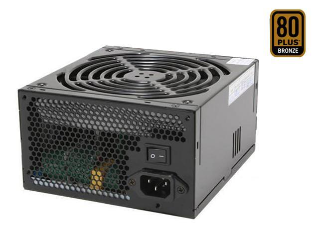 Thermaltake toughpower W0104RU 650W ATX12V / EPS12V SLI Certified CrossFire Ready 80 PLUS BRONZE Certified  Active PFC Power Supply