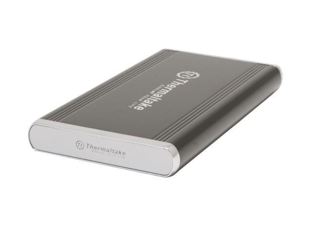 Thermaltake EA2005 (Silver River Duo) Black External Enclosure