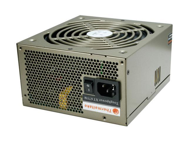 Thermaltake Toughpower XT TPX-675M 675W ATX 12V v2.3 /  EPS 12V v2.91 SLI Certified CrossFire Certified 80 PLUS BRONZE Certified Modular Active PFC Power Supply