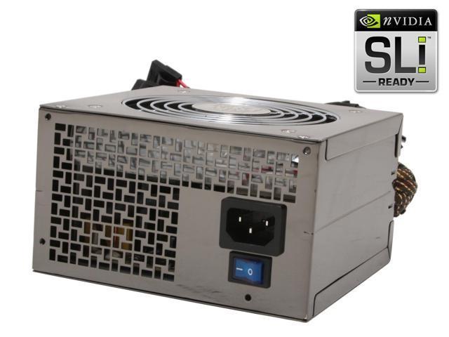 APEX SL-8550EPS 550W ATX12V / EPS12V SLI Certified Active PFC Power Supply