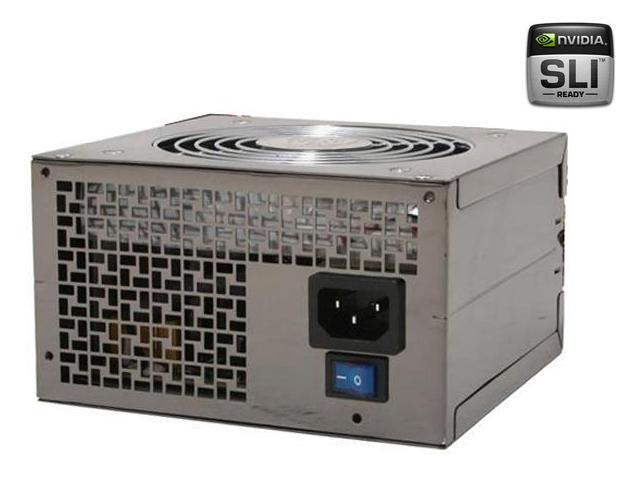 APEX SL-8600EPS 600W ATX12V / EPS12V SLI Certified CrossFire Ready Active PFC Power Supply