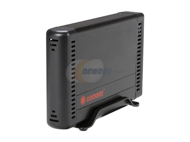 COOLMAX HD-381BK-U3 Gray External Enclosure w/OTB Function