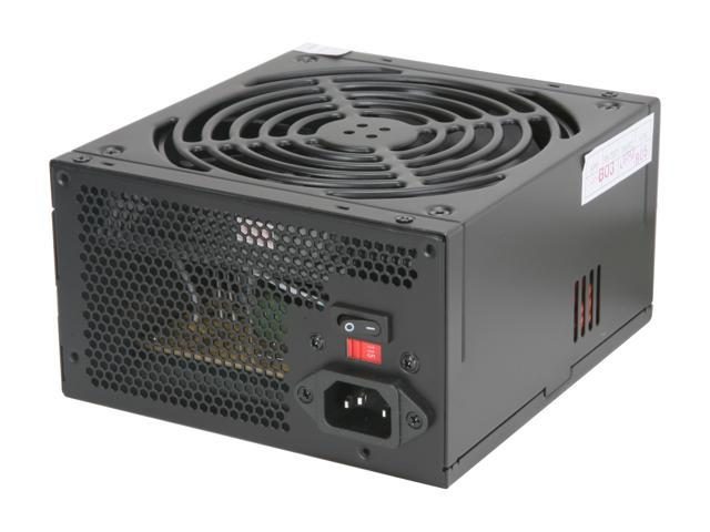 Broadway Com Corp OKIA-BLACK-600 600W ATX 12V V2.2 SLI Ready CrossFire Ready Active PFC Power Supply