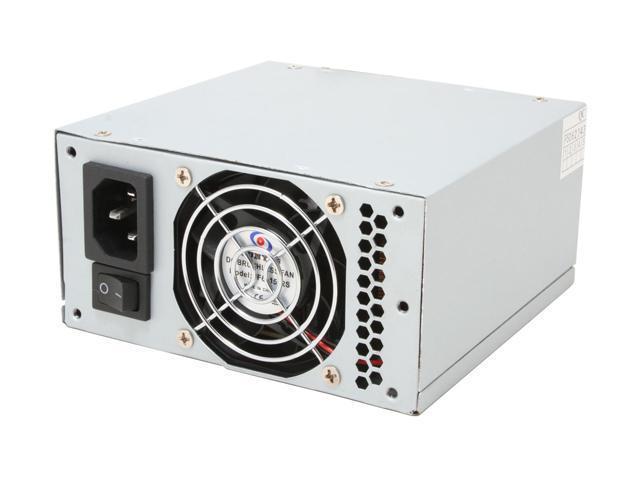 POWMAX PSLP6100AA 300W Micro ATX Dual Fan Power Supply with SATA