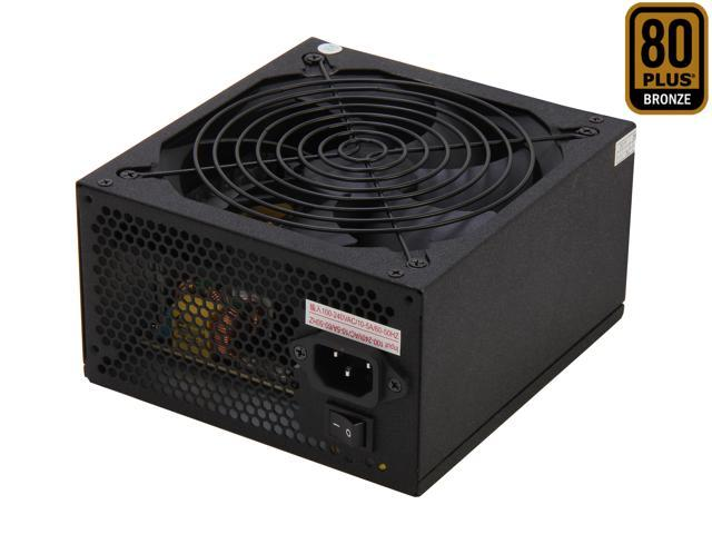 LOGISYS Computer AT750BK 750W ATX12V / EPS12V SLI Ready CrossFire Ready 80 PLUS BRONZE Certified Active PFC Power Supply