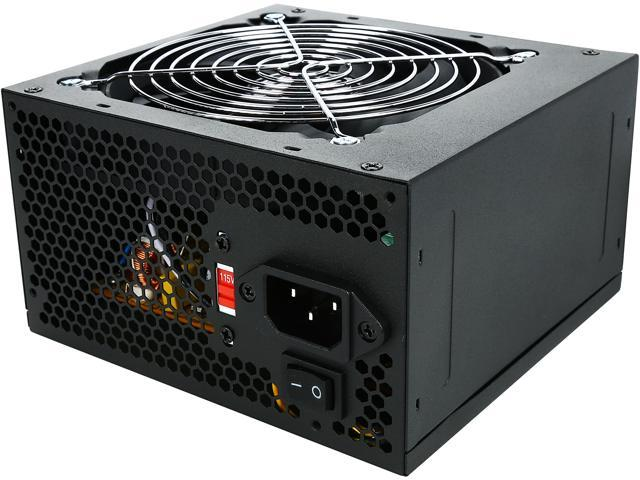 LOGISYS Computer PS550J12BK 550W ATX Power Supply