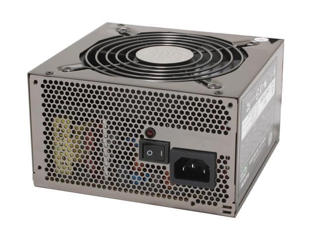 COOLER MASTER RS-600-ASAA 600 Watts Continuous ATX Form Factor 12V V2.2 / SSI standard EPS 12V V2.91 SLI Certified CrossFire Ready 80 PLUS Certified Active PFC (0.99) PFC Power Supply