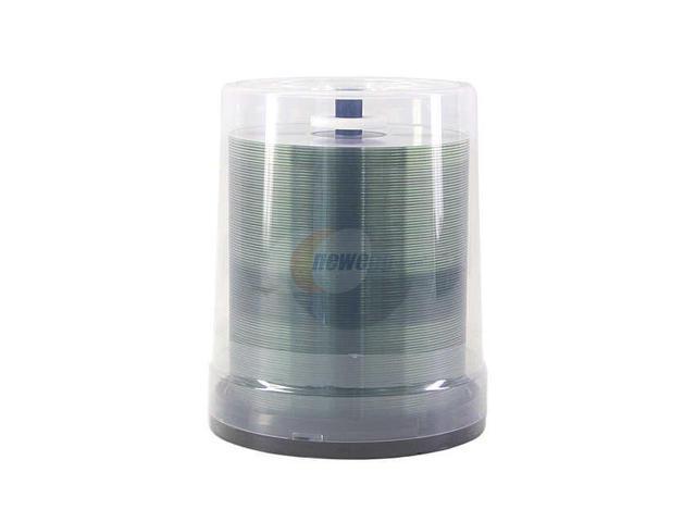 TAIYO YUDEN 700MB 52X CD-R 100 Packs LightBlue Disc Model CDR80ZZ100SB-ZM