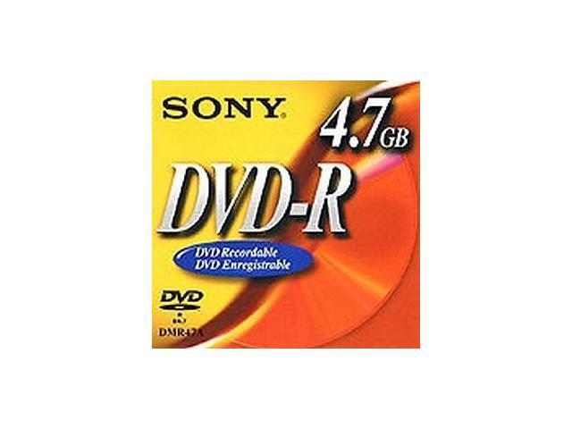SONY 4.7GB DVD-R 25 Packs Disc Model 25DMR47SP