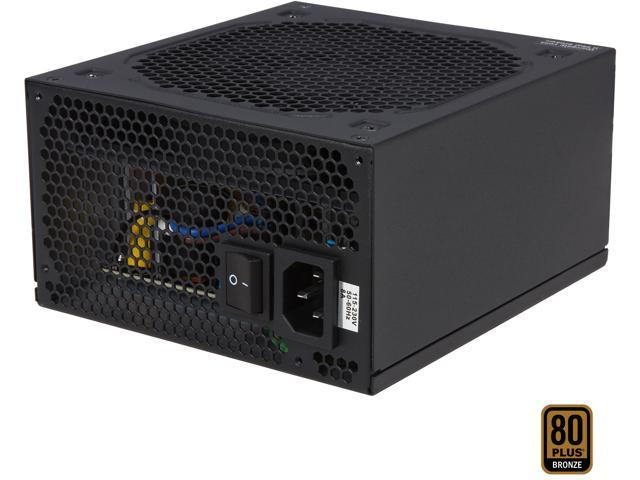 Rosewill Hive-550, Hive Series 550W Modular Power Supply, 80 PLUS Bronze Certified, Single +12V Rail, Intel 4th Gen CPU Ready, SLI & CrossFire Ready