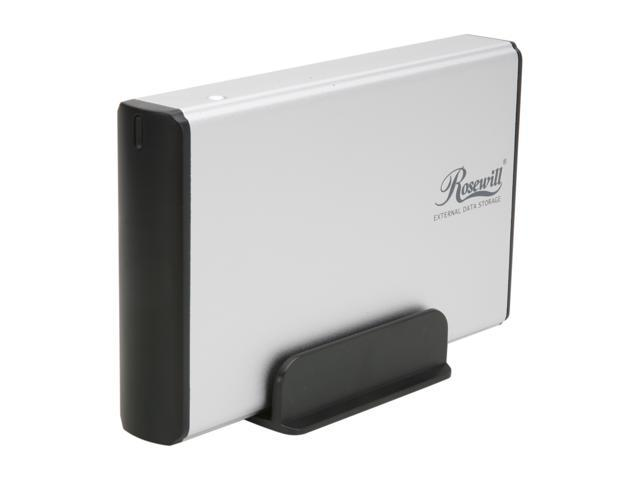 Rosewill RX35-AT-SU3 SLV Silver External Enclosure
