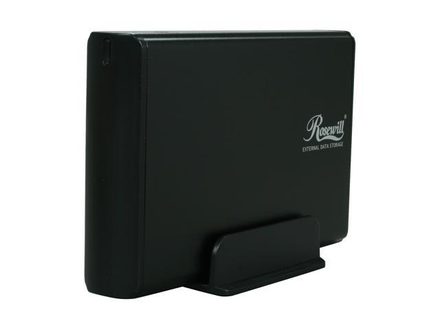 Rosewill RX35-AT-SU3 BLK Black External Enclosure