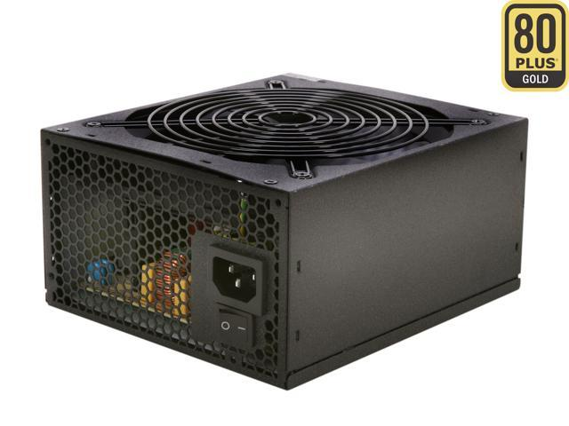 Rosewill CAPSTONE-550-M 550W Continuous @ 50°C, Intel Haswell Ready, 80 PLUS Gold, ATX12V v2.31 & EPS12V v2.92, SLI/CrossFire Ready, Modular Active PFC Power Supply