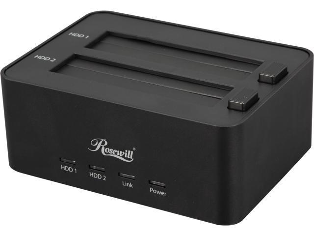 Rosewill RDDO-13001 – Dual Bay 2.5
