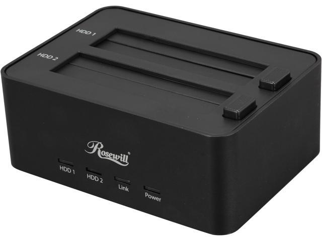 Rosewill RDDO-13002 - Dual Bay Docking Station for 2.5