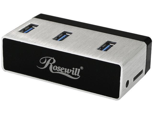 Anker® AH430 USB 3.0 4-Port Hub, Portable Aluminum Hub ...
