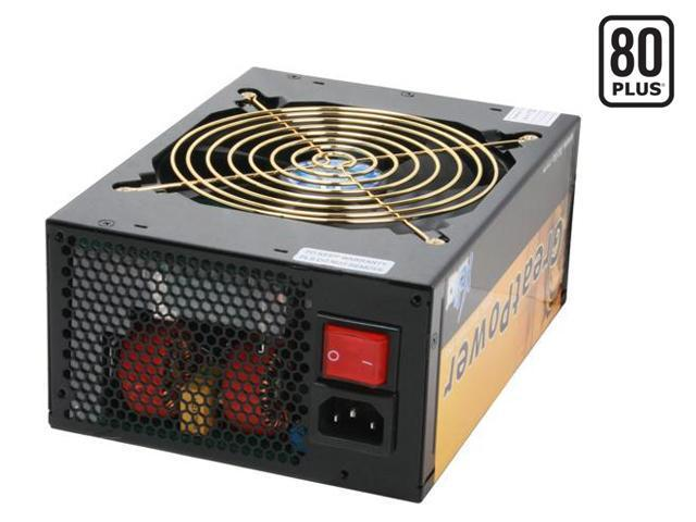 XCLIO GREATPOWER 1200W ATX12V / EPS12V CrossFire Ready 80 PLUS Certified Modular Active PFC Power Supply