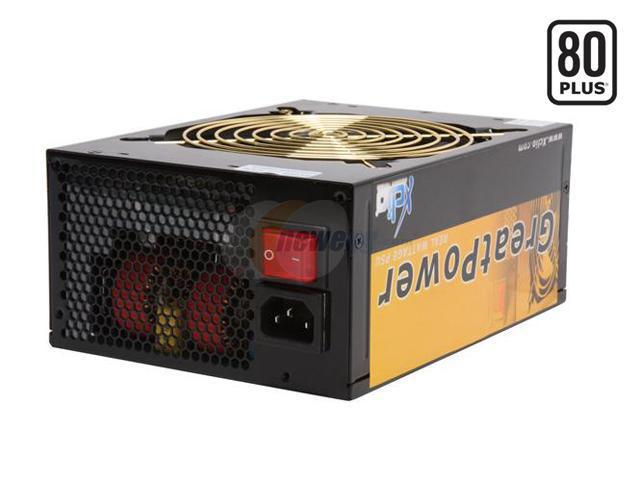 XCLIO GREATPOWER 1000W ATX12V CrossFire Ready 80 PLUS Certified Modular Active PFC Power Supply