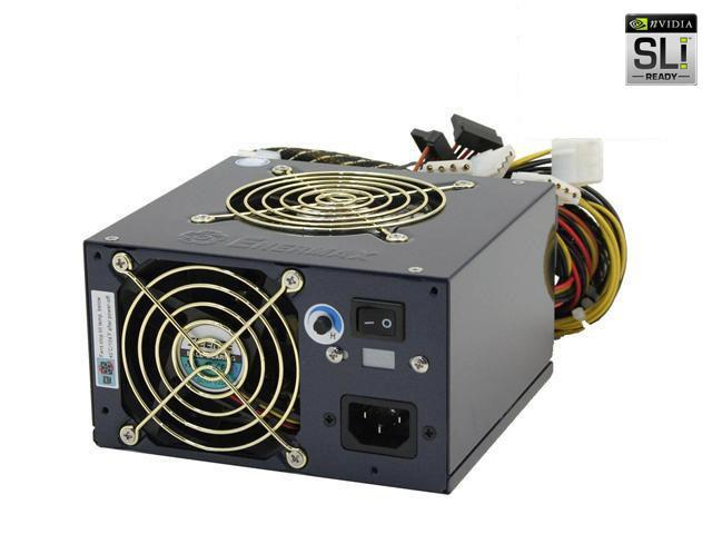ENERMAX Noisetaker EG701AX-VE SFMA(24P) 600W EPS12V SLI Certified CrossFire Ready Active PFC Power Supply