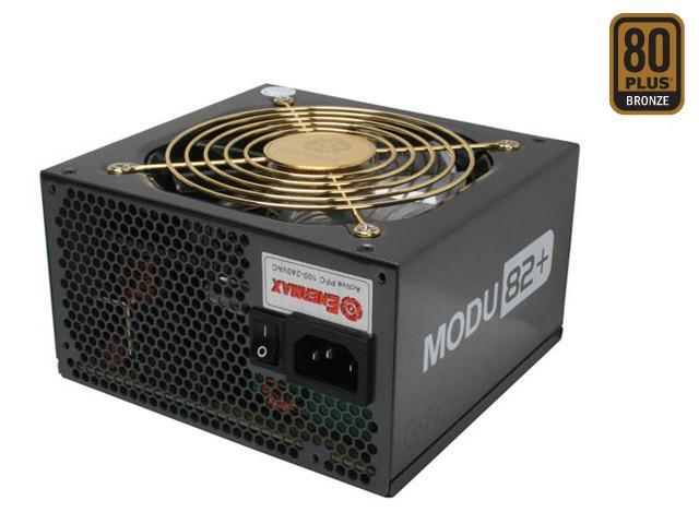 ENERMAX MODU82+ EMD625AWT 625W Power Supply