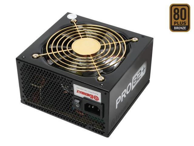 ENERMAX PRO82+ EPR385AWT 385W ATX12V  Ver.2.3 80 PLUS BRONZE Certified Active PFC Power Supply