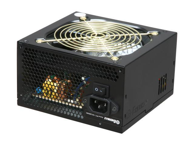 ENERMAX Tomahawk ETK500AWT 500W ATX12V V2.2 AirGuard, Speed Guard and Safe Guard Active PFC Power Supply