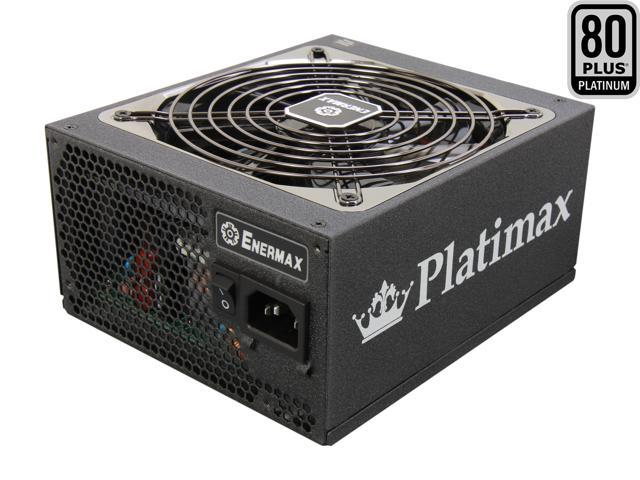 ENERMAX Platimax EPM750AWT 750W ATX12V / EPS12V SLI Ready CrossFire Ready 80 PLUS PLATINUM Certified Modular Power Supply ...