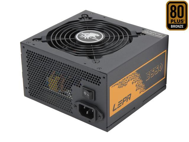LEPA B550-SA 550W SLI Ready CrossFire Ready 80 PLUS BRONZE Certified Active PFC Power Supply