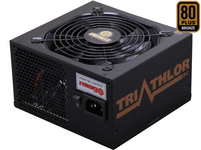 ENERMAX TRIATHLOR ETA550AWT-M 550W ATX12V SLI Ready CrossFire Ready 80 PLUS BRONZE Certified Modular Active PFC Power Supply New 4th Gen CPU Certified Haswell Ready