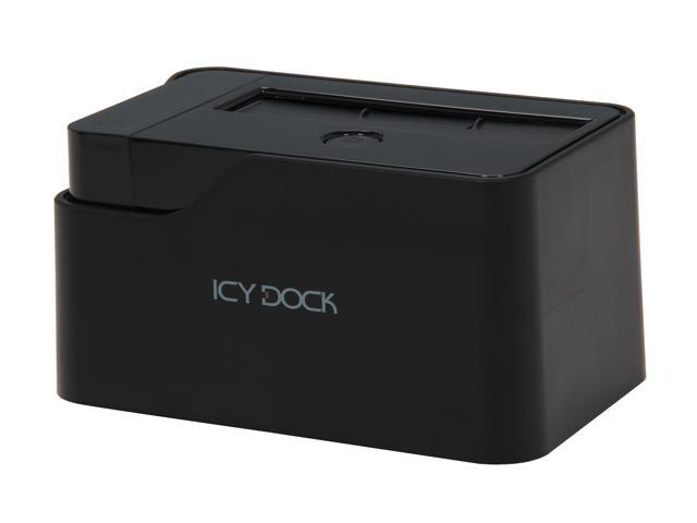 ICY DOCK MB981U3S-1S Black SATA to USB 3.0 & eSATA HDD Docking Station