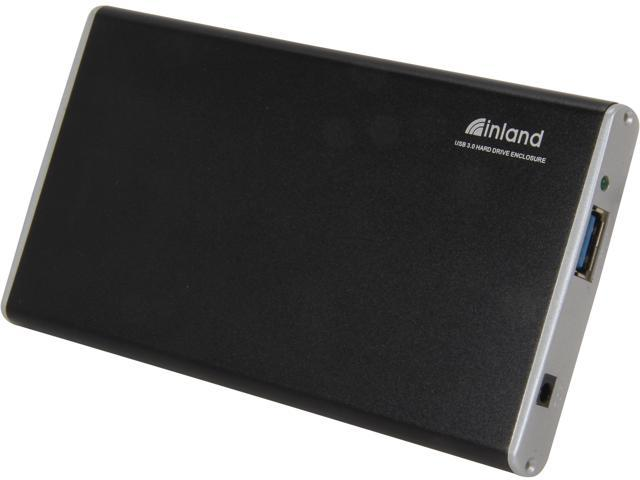 inland 08415 Black USB 3.0 Hard Drive Enclosure