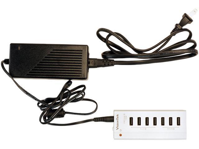 VisionTek 900726 High Power USB 3.0 Seven Port Charging Hub