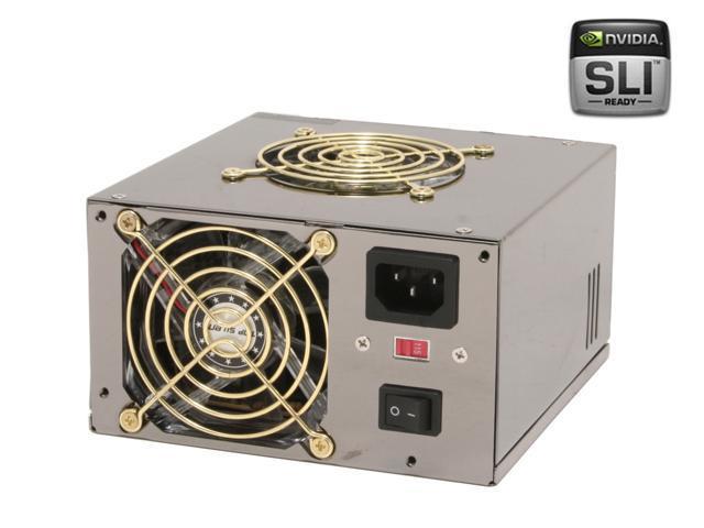 DYNAPOWER USA PS-600T472 600W ATX12V V2.2 SLI Ready CrossFire Ready SLI Ready Power Supply